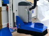 ranurador del CNC de 1300X2500m m, máquina 1325 del CNC para la madera con el rodillo en frente