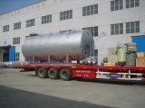 caldeira de vapor Oil-Fired da água 9t quente para industrial
