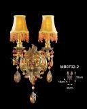 Europäisches funkelndes Hotel-Kristallwand-Lampe (MB0702-2)
