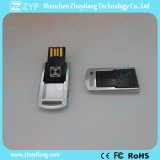 Mini Twist Metal USB Flash Drive avec Logo (ZYF1742)