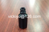 bottiglie della lozione del nero di alta qualità 50ml, bottiglie di vetro nere viola