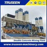 De Levering van de fabriek! De dubbele Installatie van de Concrete Mixer voor Verkoop