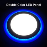 El panel redondo/cuadrado Downlight del color doble del LED