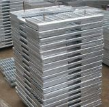 Steel galvanizzato Bar Floor Grating/Plain Steel Grating con Ce Approval