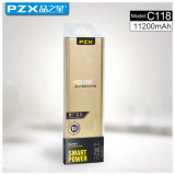 Alta qualità di modello della Banca 11200mAh di potere Pzx-C118 per il telefono