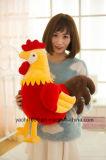 2017羽の新式のPromationalのおもちゃのプラシ天の雌鶏
