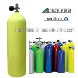 Serbatoio di ossigeno subacqueo di alluminio dello scuba della fabbrica