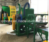 Der verwendete Gummireifen, der Maschine /Tyre aufbereitet, bereiten Pflanze/zurückgeforderte produzierende Gummizeile auf