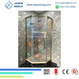 3/8 дверей ливня Tempered стекла