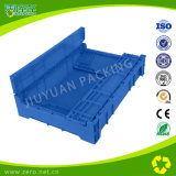 Plastic Crate Maker Blue Color Colapsável Plastic Moving Container