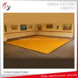 Pintura blanca Panel laminado reciente danza pasillo suelos de madera (DF-44)