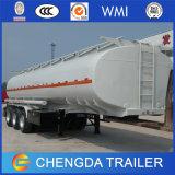 3개의 차축 석유 탱크 재고 연료 유조선 트레일러 42000 리터