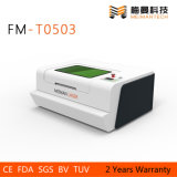 Mini gravador FM-T0503 do laser do Desktop para os ofícios de madeira ou acrílicos