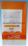 Sacchetto tessuto pp di plastica/sacco Pellicola-Laminati BOPP della lettiera di imballaggio