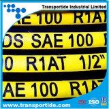 """SAE 100 853 1sn en R1at/DIN 1/2 """" flexible hydraulische Schläuche"""