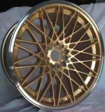 Красивейшее колесо сплава стороны золота сразу от фабрики