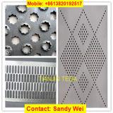 Metallblatt-Edelstahl-Fluss-Stahl-Aluminiumkupfer-perforierter Blatt-Ineinander greifen-Riemen