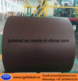 Bobina de acero de PPGI/PPGL con la superficie de la arruga