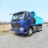 Left Hand Drive 6X4 HOWO A7 transmisión de la rueda del camión volquete