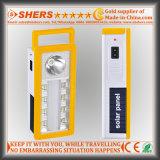 Портативное солнечное аварийное освещение СИД с 1W электрофонарем, USB (SH-1904A)