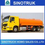 dimensiones del carro de petrolero del combustible de 6X4 Sinotruk 20cbm