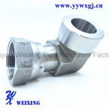 Encaixe hidráulico dos encaixes hidráulicos da solda do cotovelo do aço inoxidável