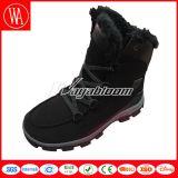 Ботинки шерсти снежка людей женщин высокие верхние на зима