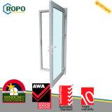 Дверь стекла Casement термоизоляции UPVC/PVC пластичная французская