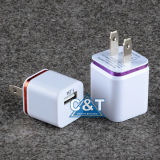 iPhone 6을%s Power 이중 Adapter USB Wall Charger