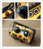 Controlo a distância sem fio do manche de Henan Yuding F24-60 para guindastes de esteira rolante hidráulicos