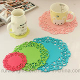 Souvenirsのための卸し売りAnti SLIP Silicone Cup Coaster
