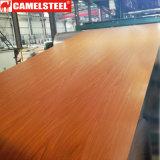 Зерно покрынное цветом стальной катушки стана Китая деревянное PPGI