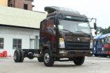 Camion léger de Sinotruck -- Camion de cargaison du commandant 154HP 4X2 de HOWO