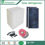 Kompressor-Sonnenenergie angeschaltener Gefriermaschine-Kühlraum-Kühlraum Gleichstrom-215L