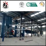 Betätigter Holzkohle-Produktionsanlage-Aufbau