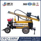 Dfq-100山岳地帯DTHのハンマーの井戸の掘削装置