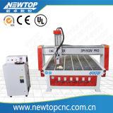 Muestra que hace la máquina del ranurador del CNC de la máquina