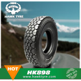 Pneu radial de camion et de bus, pneu de TBR, pneu de véhicule sans chambre (7.50R16)