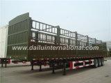 Frontière de sécurité de 3 essieux/de pieu remorque semi/remorque de camion, frontières de sécurité 2-Tier