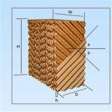 Papel acanalado de la fibra del sistema de ventilación de enfriamiento