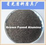 研摩のブラウンによって溶かされるアルミナに砂を吹き付けること (BFA)