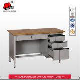Самомоднейший стол металла мебели конторского персонала школы с ящиками