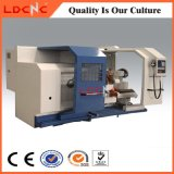 수평한 높은 정밀도 자동적인 급료 CNC 선반 기계 제조