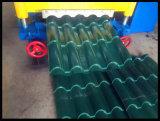 Le toit de vitesse rapide a glacé le roulis de feuille de tuile formant le nouveau produit de machine