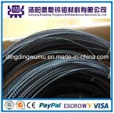 エクスポートの高い純度の高品質のタングステンのフィラメントのタングステンワイヤーDia0.06mm