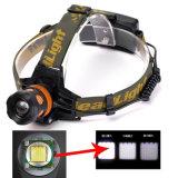 Indicatore luminoso capo ricaricabile del CREE T6 LED di Zoomable