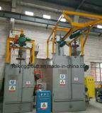 Hohe Leistungsfähigkeits-hakenförmige Granaliengebläse-Maschine