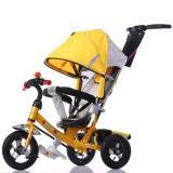 De Driewieler van de Kinderwagen van het Speelgoed van het voertuig Met Pushrod