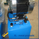 Машина электрического гидровлического шланга гофрируя