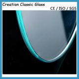 8mm Doblaron el Vidrio Tempered para los Muebles con el Certificado de ISO/Ce/SGS